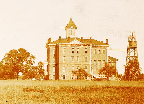 Pioneer Hall in the 1890s