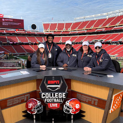 student trip to the 2019 College Football Championship game