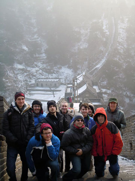 math students study abroad in Asia