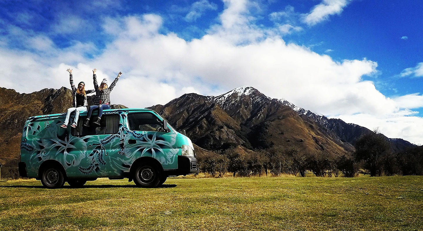 Van in New Zealand